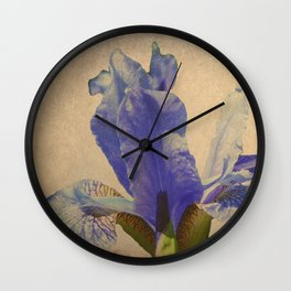 Antique Iris Wall Clock
