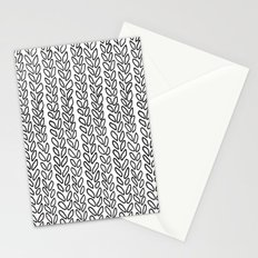Knit Outline Zoom Stationery Cards