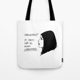 Unbeatable Tote Bag