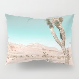 Vintage Desert Scape // Cactus Nature Summer Sun Landscape Photography Pillow Sham