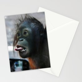 Baby Orangutan Stationery Cards