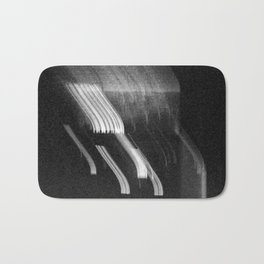 Being at the Drive-In B/W Bath Mat