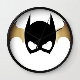Feeling Batgirl Today Wall Clock
