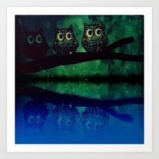 owl-66 Art Print