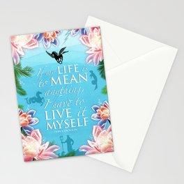 PJO Live it myself Stationery Cards