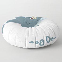 Fathers Day from Wife Kids Baby Grandpa Shark Doo Doo Floor Pillow