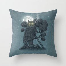 Nightwatch Throw Pillow