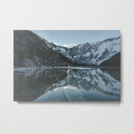 Lapras Lake Metal Print