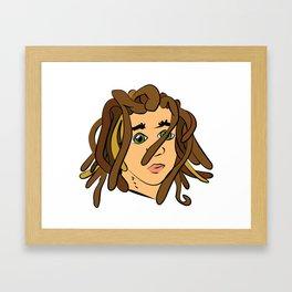 dfdf Framed Art Print
