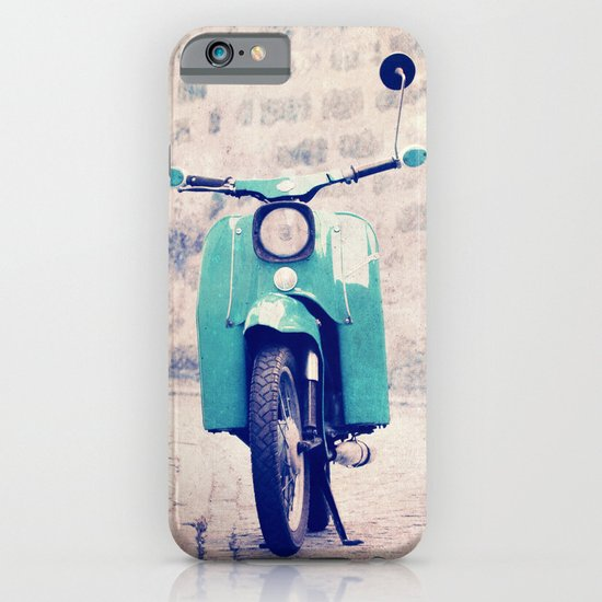 blue swallow iPhone & iPod Case