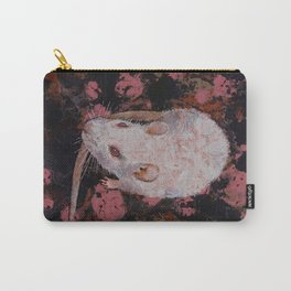 White Rat Carry-All Pouch