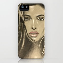 Angelina Jolie iPhone Case