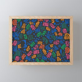 Matisse Colorful Pattern #2 Framed Mini Art Print