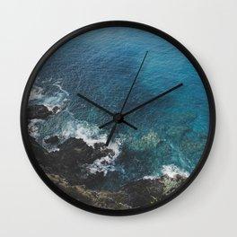 Blue Gem of Hawaii Wall Clock