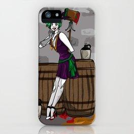 Jazz Age Joker iPhone Case