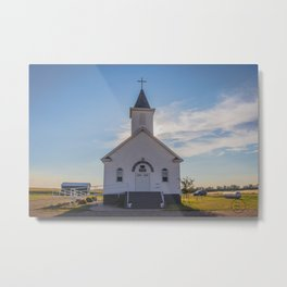 St Paul Lutheran Church 7 Metal Print