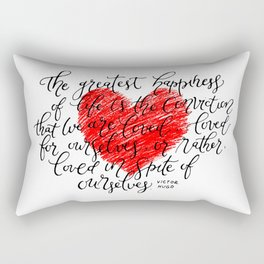 We Are Loved Rectangular Pillow