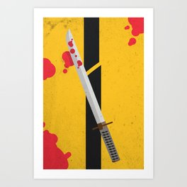 KILL BILL Tribute Art Print
