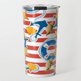 summer sea Travel Mug