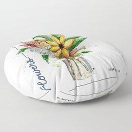 Flowers 1 Floor Pillow