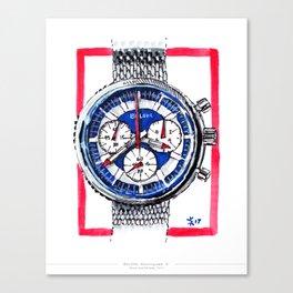 Bulova 'Stars and Stripes' Chronograph C Canvas Print
