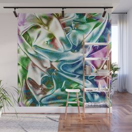 Holographic Narwhal Bright Wall Mural