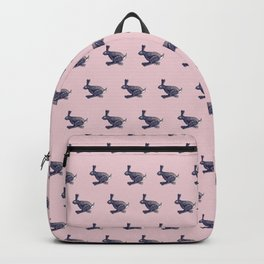 Patterned Hare Don't Care Backpack