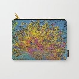 Painterly Ball of Yarn Carry-All Pouch