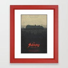 The Overlook - The Shining Framed Art Print