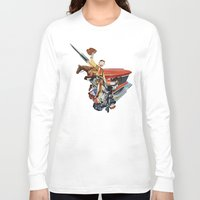 western Long Sleeve T-shirts featuring Western by Lerson