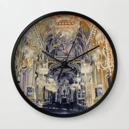 Opera de Paris Wall Clock