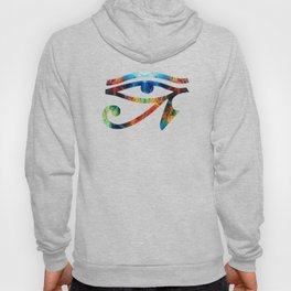 Eye of Horus - Art By Sharon Cummings Hoody