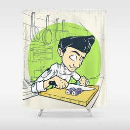 Cook Life Shower Curtain