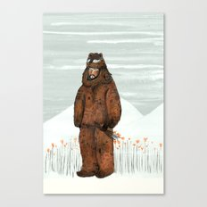 Wilder Mann - The Bear Canvas Print