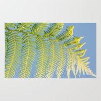 fern Area & Throw Rugs featuring Fern by Pati Designs