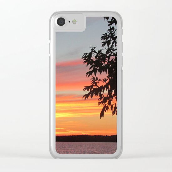 The Afterglow Clear iPhone Case