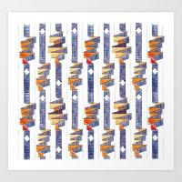 Rubans / Ribbons Art Print