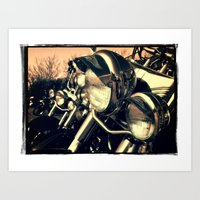 harley Art Prints featuring 'Harley' by Janet Grainger