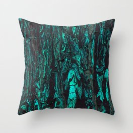 Paint texture ( cracked ) Throw Pillow