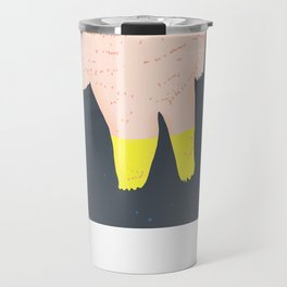 The Ghost Bear of The Tower Of London Travel Mug