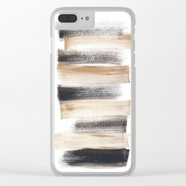 [161216] 10. Known |Watercolor Brush Stroke Clear iPhone Case