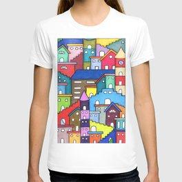 Crazy Houses T-shirt