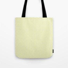 Limeade Polka Dots Tote Bag