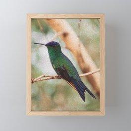 Bird - Photography Paper Effect 002 Framed Mini Art Print