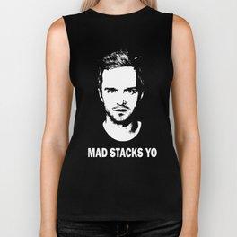 "Jesse Pinkman ""Mad Stacks Yo"" Biker Tank"