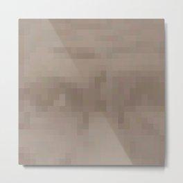 Harriet Tubman Pixel Metal Print
