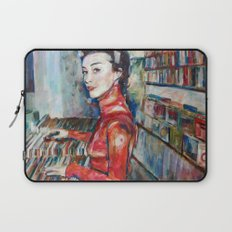vinyl vintage Laptop Sleeve
