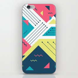 Geometric Memphis iPhone Skin