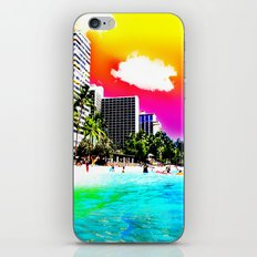 Waikiki Beach Part II iPhone & iPod Skin