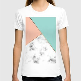 Marble Geometry 056 T-shirt